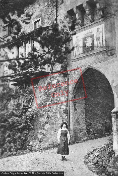 Photo of Gruyères, Town Entrance c.1920