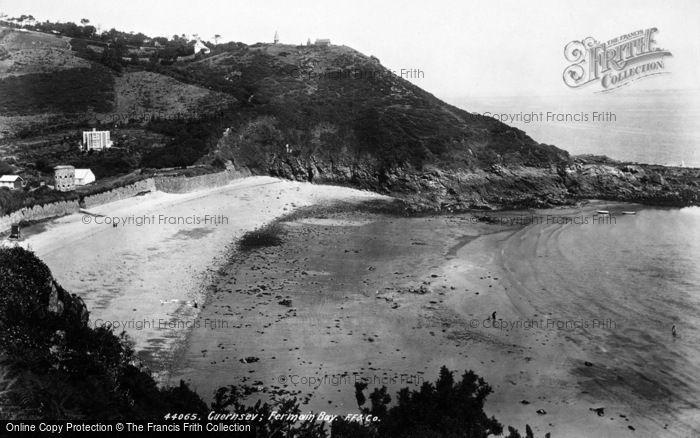 Photo of Guernsey, Fermain Bay 1899