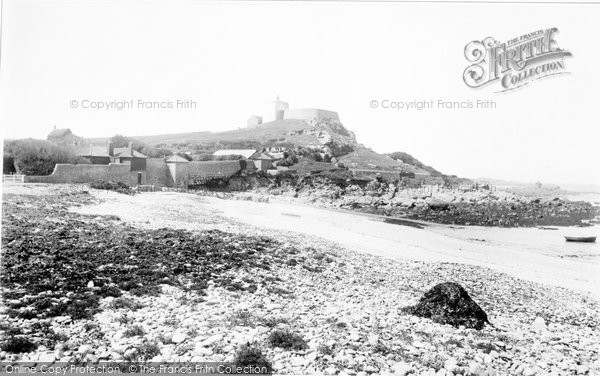 Photo of Guernsey, L'exe Bay 1893