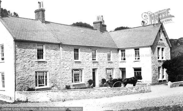 Photo of Guernsey, Le Gouffre Hotel 1893