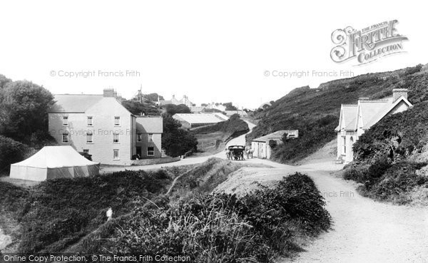 Photo of Guernsey, Le Gouffre Hotels 1899