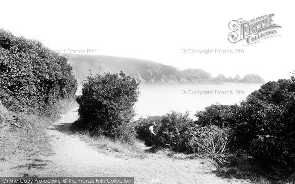 Photo of Guernsey, Moulin Huet Bay 1899