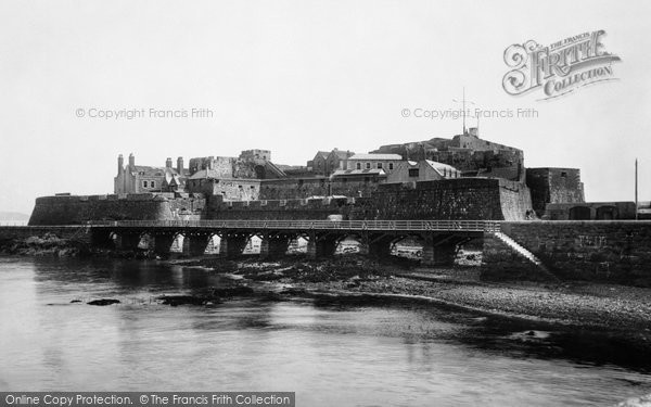 Photo of Guernsey, St Peter Port, Castle Cornet 1892