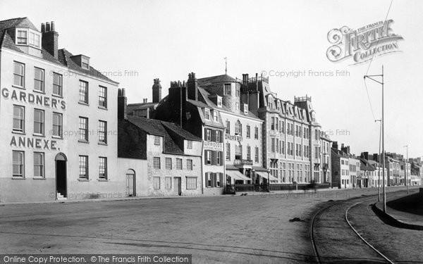 Photo of Guernsey, St Peter Port Esplanade 1892