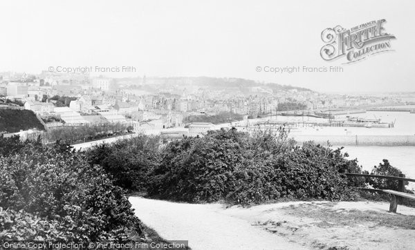 Photo of Guernsey, St Peter Port From Fort George 1892