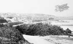 Guernsey, St Peter Port From Fort George 1892
