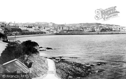 Guernsey, St Peter Port From The Bathing Place 1892