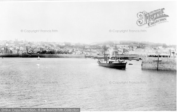 Photo of Guernsey, St Peter Port From The Pier 1894