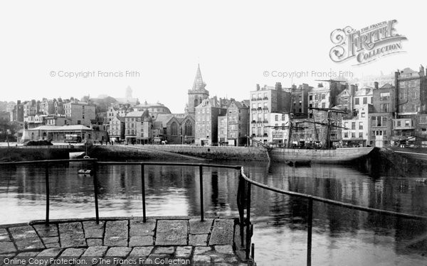Photo of Guernsey, St Peter Port, Old Harbour 1892