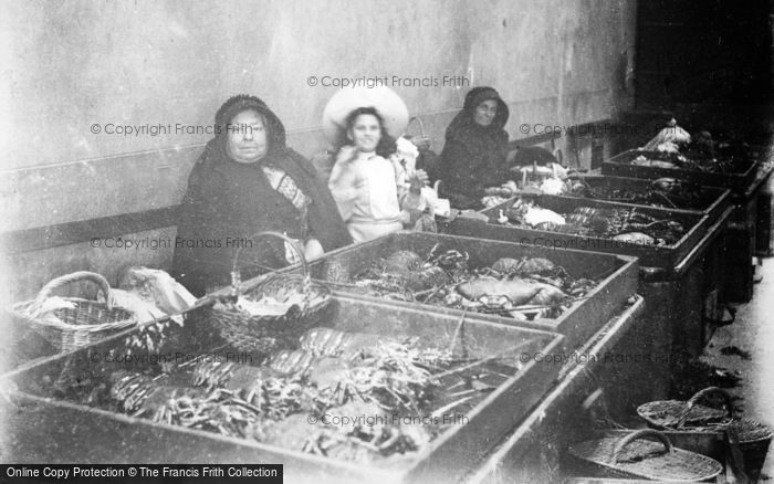 Photo of Guernsey, The Fish Market c.1900