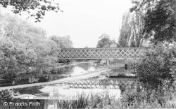 Guidepost, Sheepwash Bridge c.1955, Guide Post