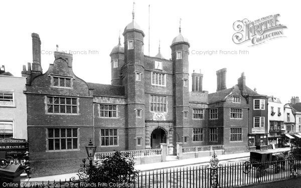 Guildford, Abbot's Hospital 1903