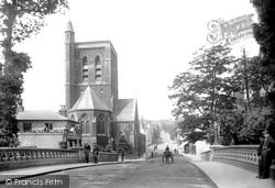 Guildford, Bridge And St Nicholas' Church 1904