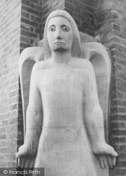 Guildford, Cathedral, An Angel c.1960