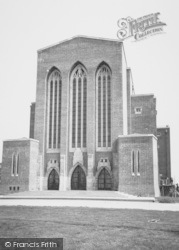 Guildford, Cathedral c.1960