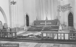 Guildford, Cathedral, High Altar And Carpet c.1960