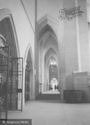Guildford, Cathedral, North Ambulatory And Chancel c.1960