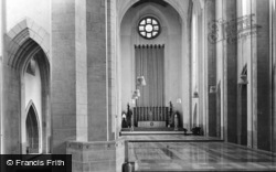 Guildford, Cathedral, North Ambulatory And Chancel c.1965