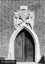Guildford, Cathedral, St Ursula's Porch c.1965