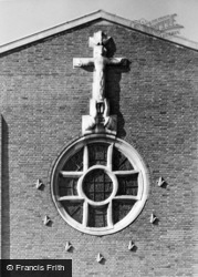 Guildford, Cathedral, The Eastern Sculpture c.1965