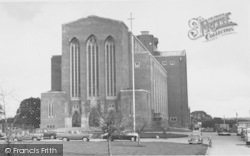 Guildford, Cathedral, West End 1961