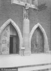 Guildford, Entrance To The Cathedral c.1960