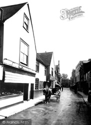 Guildford, Friary Street 1904