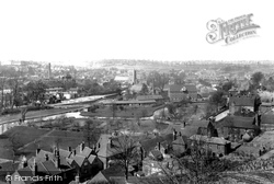 Guildford, From Pewley Hill 1895