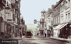 High Street 1895, Guildford