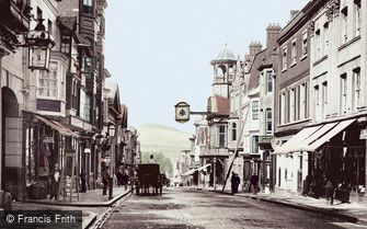 Guildford, High Street 1895