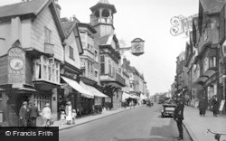 Guildford, High Street 1923