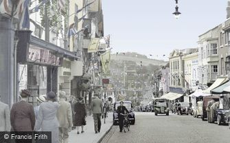 Guildford, High Street 1953