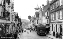 Guildford, High Street 1966