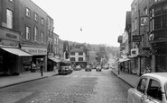 Guildford, High Street c1960