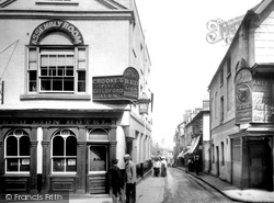 Guildford, Market Street 1904
