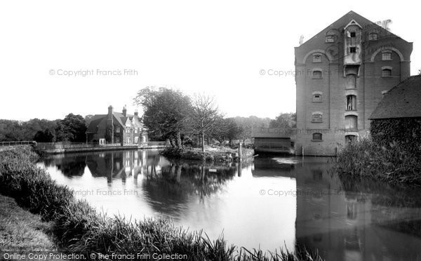 Guildford,Stoke Mill 1906,Surrey