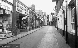 Guildford, Swan Lane c.1960