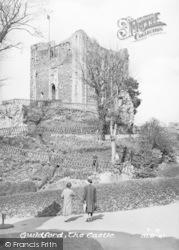 Guildford, The Castle c.1955