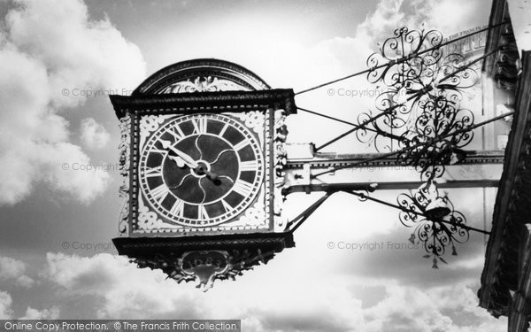 Photo of Guildford, The Clock c.1965