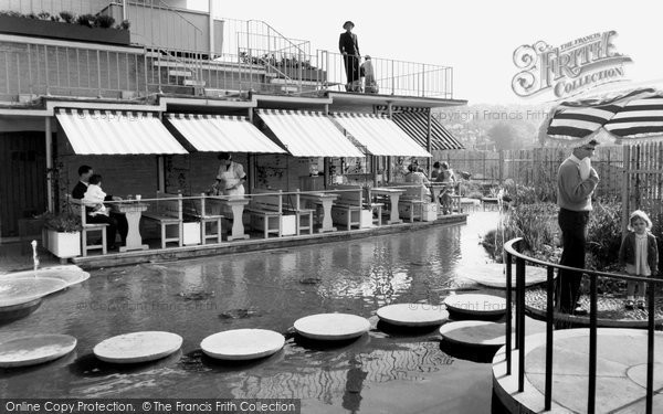 Photo of Guildford, The Roof Garden c.1960