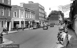 Guildford, Upper High Street c.1950