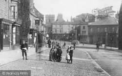 Guisborough, Children In Westgate 1899