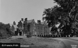 Guisborough, Gisborough Hall c.1955