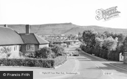 Guisborough, Highcliff From West End c.1965