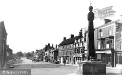 Guisborough, Market Cross And Westgate c.1955