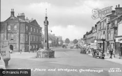 Guisborough, Market Place c.1960