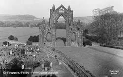 Guisborough, Priory From Church Tower c.1955