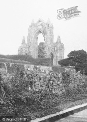 Guisborough, Priory From The Gardens 1899
