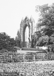 Guisborough, Priory From The Gardens c.1885