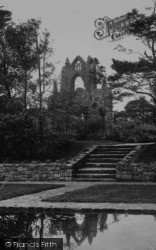 Guisborough, Priory From The Lily Pond 1913